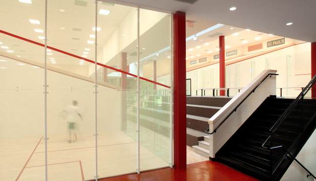 The Lawrenceville School Squash Courts